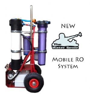 Water Genie Mobile RO system Twin 20